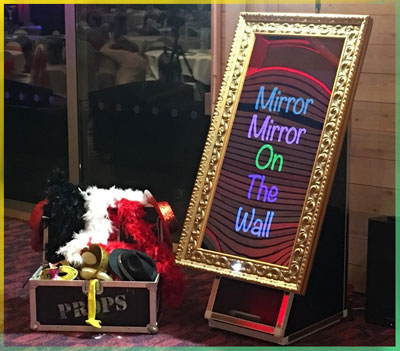 magic mirror photo booth hire newcastle